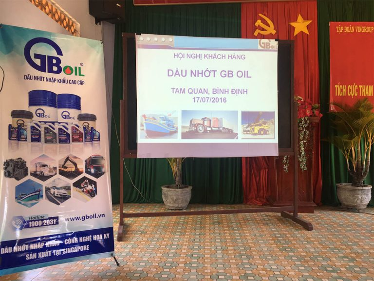 Hội nghị khách hàng GB OIL và động viên ngư dân bám biển – bảo vệ chủ quyền biển đảo.