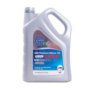 GB Platinum Motor Oil SAE 10W40, API SN (Semi-Synthetic)
